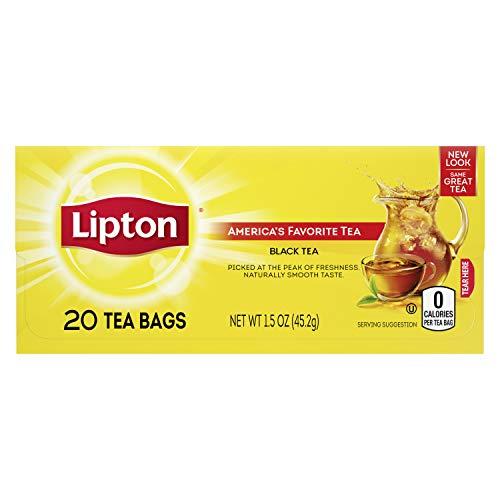 lipton black teas Lipton Black Tea Bags, America's Favorite Tea 20 ct