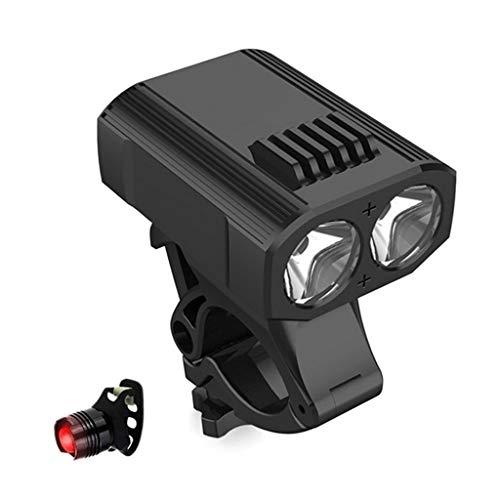 ZQQ Luz De La Bici, Super Brillante USB De Carga Trasera De La Linterna De La Bicicleta con 5 Modos De Iluminación Fit Impermeable para Motos De Calle Montaña Niños