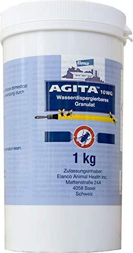 AGITA Elanco 10 WG Granulat - 1 kg - Fliegenmittel