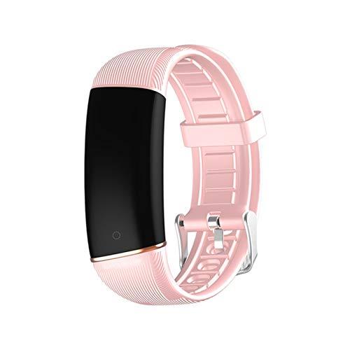 YDZ E98 Smart Watch Bluetooth Impermeable, Rastreador De Fitness De Ritmo Cardíaco, Podómetro, Monitoreo del Sueño, Pulseras Inteligentes para Hombres Y Mujeres para Android iOS,E