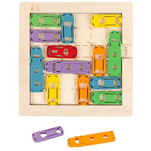 Toddler Toys Board Puzzle Game Houten Cars Multiple Play Denken Training Educatief Speelgoed Pak Voor 2 3 Jaar Oud Kids Kinderen