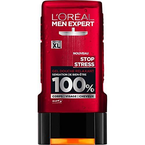 L'ORÉAL - Men Expert Douche Stop Stress 300Ml - Lot De 3 - Livraison Gratuite