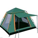 Accesorios de construcción Carpas para acampar Carpa de tiro emergente ligera para exteriores Carpa para 3-4 personas Camping Festival Segunda carpa 210x210x140 Cm Ventilación y ventilación Sombrea
