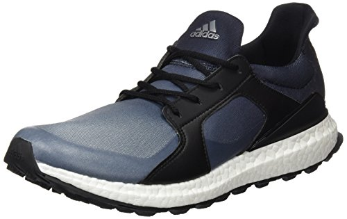 adidas W Climacross Boost Zapatos de Golf para Mujer, Negro/Gris, 42