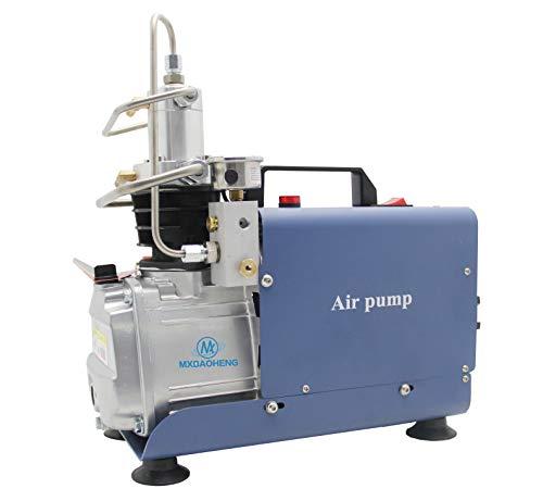MXBAOHENG Elektrischer Luftkompressor 300BAR 30MPA 4500PSI Hochdruckluftpumpe PCP Luftkompressor für die Brandbekämpfung Paintball PCP Shooting  (Auto Version)
