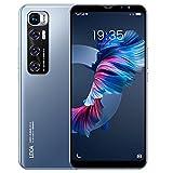 Teléfono Móvil Libres 3G, Android Smartphone Libre, 5.5' Display, 1GB + 4GB, Cámara 5MP, Batería 2800mAh, Dual SIM Dual Camera Moviles Baratos y Buenos (2*SIM+1*SD) (M10-Blue)