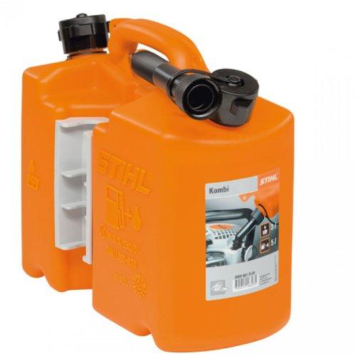 STIHL Kombi-Kanister für Kraftstoff und Öl, Orange