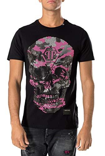 Philipp Plein - Herren T-Shirt 'Bad-S' Schwarz (XL)