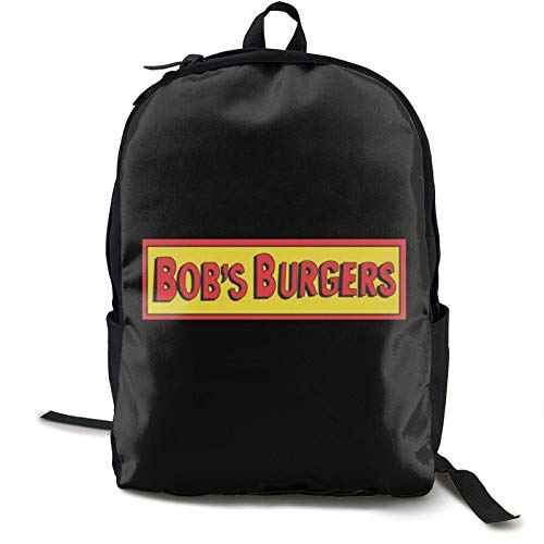 Bo-B'S Bur-Gers Fashion School Backpack College Daypack Book Bag Computer Bag Laptop Travel Bag for Unisex-adult Men and Women One Size