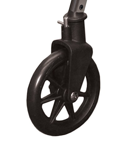 Able Life 2 Piece Locking Swivel Wheel Kit, Black, 1.6 Pounds
