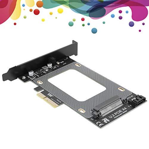 Adaptador U.2 a PCI-E, Material de Resina Adaptador U.2 Duradero con Cable para WIN10 32 para WIN7