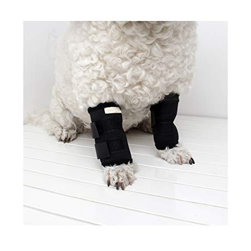Z-PET Pierna De Perro Envoltura Canina Rodillera Rodillera De Refuerzo Rehabilitación De Rodilla Rodillera Protector De Codo Pierna De Perro Herida De Perro Herida (Color : Front Leg, Size : L)