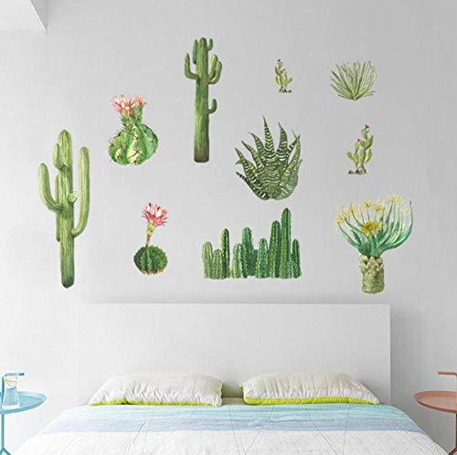 Hopeyard Cactus Slaapkamer Kast Vensterbank Woonkamer Tv Achtergrond Wanddecoratie Muurstickers