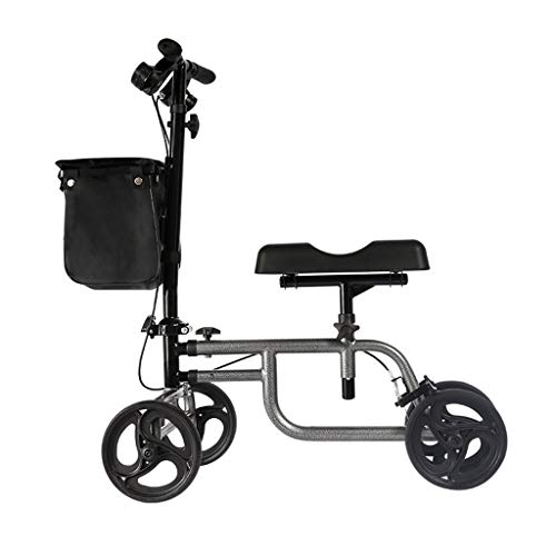 Accesorios para andadores con Ruedas Knee Walker Knee Scooter Knee Walker Aleación De Aluminio con Ruedas De Rodilla Scooter Asistido A Caminar Caminando para Discapacitados