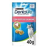 PURINA DENTALIFE Snack gatto al gusto di Salmone - 8...