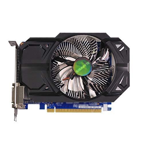 WSDSB Doble ventilador de refrigeración ajuste para Gigabyte GTX 750 1 GB tarjeta de vídeo ajuste para NVIDIA 128 tarjetas gráficas PC PC escritorio tarjeta gráfica