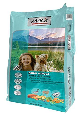 MAC's Adult Mini Ente, Lamm, Lachs, 1er Pack (1 x 3 kg)
