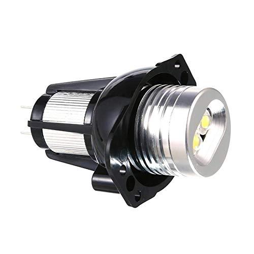 2pcs 20W LED Faros de la lámpara de anillo de ojo de ángel for BMW E90 E91 05-08 Angel Eyes