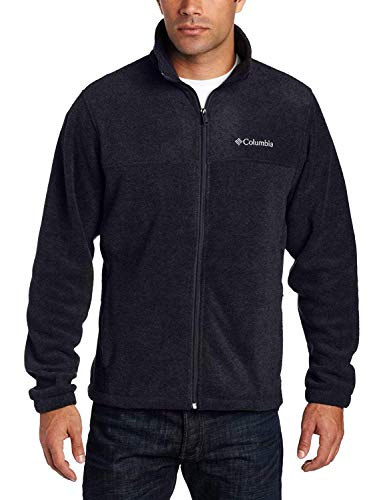 Columbia Men s Granite Mountain Fleece Jacket (X-Large, Black)