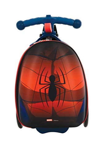 Spider-Man M004064 Scootin Valise Rouge