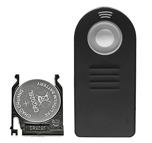 ML-L3 Mando a distancia IR inalámbrico compatible con Nikon D7500 D3400 D750 D7200 D5500 D3300 D5300 D610 D7100 D5200 D3200 D5100 D3000 D7000 Coolpix P900 V3 8400 8800 P7000 P7100 F75.