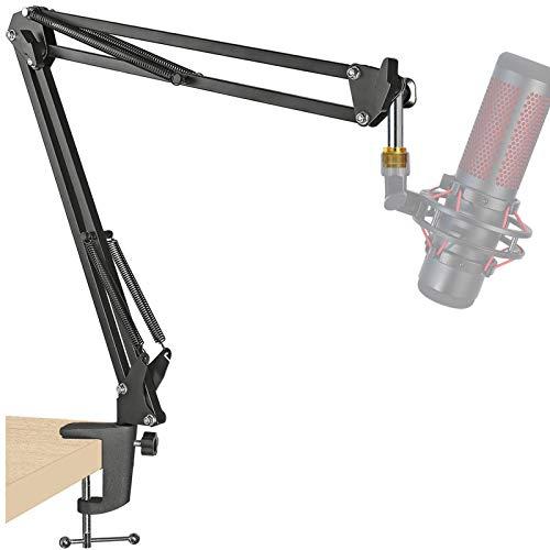 QuadCast Boom Arm Mic Stand, Adjustable Suspension Boom Scissor Arm Stand for HyperX...