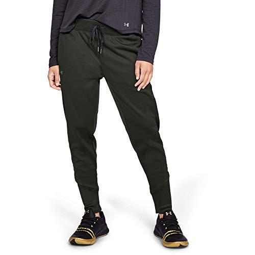Under Armour Synthetic Fleece Jogger - Pantalones, Mujer, Verde (Artillery Green/Tonal), S