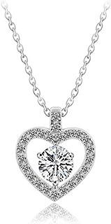 cuori san valentino collana argento 925 donna regali san valentino per lei regalo compleanno donna gioielli personalizzat...