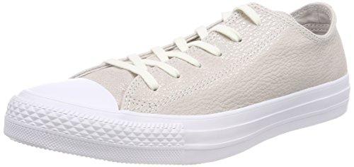 Converse 559888C Damen CTAS Ox Fitnessschuhe, Beige (Pale Putty/Silver/White 036), 41.5 EU