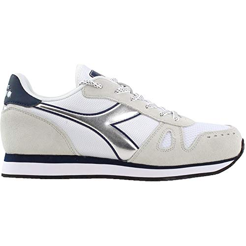 Diadora Womens Simple Run Lace Up Sneakers Shoes Casual - Blue - Size 5.5 B