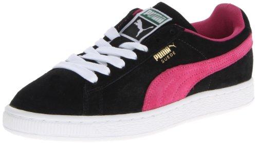 PUMA Women's Suede Classic Sneaker, Black, 10 B US