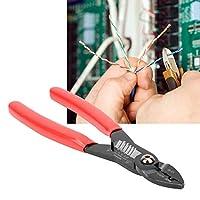 【𝐂𝐡𝐫𝐢𝐬𝐭𝐦𝐚𝐬 𝐆𝐢𝐟𝐭】精密ワイヤーストリッパー、端子用7inプロフェッショナル電気ケーブルストリッピング圧着ツールワイヤーストリッパー、ワイヤーストリッピングツールワイヤーカッター
