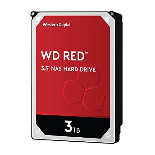 WD Red interne NAS-Festplatte 3 TB (3,5 Zoll, NAS Festplatte, 5400 U/min, SATA 6 Gbit/s, NASware-Technologie, 256 MB Cache)