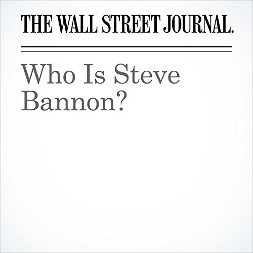 Who Is Steve Bannon? cover art
