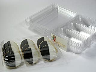 Katgely Cookie Container for Dozen Cookies Can Hold 12-15 Cookies Sized 2 Inch Diameter (Pack of 15)
