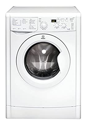 Indesit IWDD7123 B Rated Freestanding Washer Dryer - White