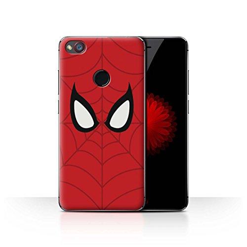 Hülle Für ZTE Nubia Z11 Mini Superheld Comic-Kunst Spider-Man Maske Inspiriert Design Transparent Ultra Dünn Klar Hart Schutz Handyhülle Case