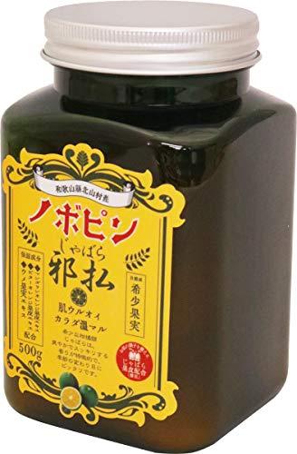 紀陽除虫菊 じゃばら入浴剤 ボトル 500g
