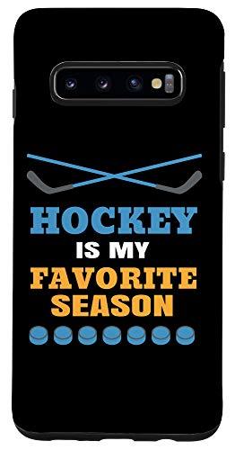 Galaxy S10 Hockey is my favorite Season, Funny Hockey Quote Case