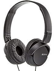 سماعة رأس سوني لمراقبة الصوت بتصميم فوق الأذن طراز MDRZX110AP
