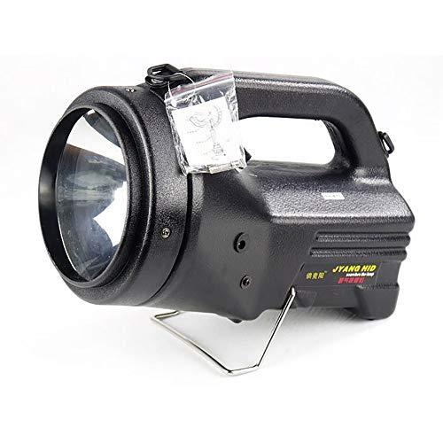 QCLU 100W HID Reflector de Mano Foco de Luces de Trabajo cargable, para automóvil de Campo Campo de conducción de vehículos Pesca al Aire Libre Caza Luz de Camping Patrulla Luz de Coche