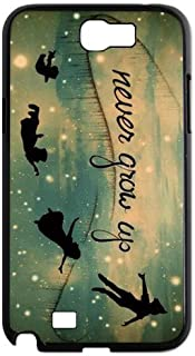 Peter Pan Never Grow Up Classic Custom Protective Back Case Cover for Samsung Galaxy Note 2 N7100
