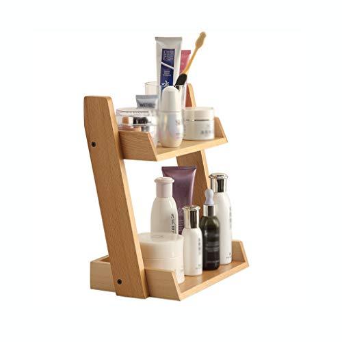 Coffrets de maquillage Maquillage Tablette De Coin, Salle De Bains Cosmétique Étagère De Rangement, Multi-Couche Vanity Ménagers Soins De La Peau Produit Étagère De Rangement