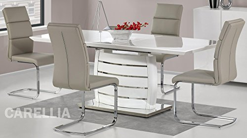 Table A Manger Design Extensible Design 160÷200/90/76 CM - Blanc