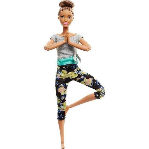 Boneca Barbie - Feita Para Mexer - Aula De Yoga - Morena - M