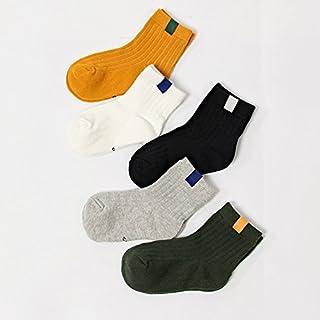 Calze Abbigliamento sportivo XIU*RONG Calze A Strisce Tutti-Match Calze Calzini di Cotone Calze di Studenti nei Bambini