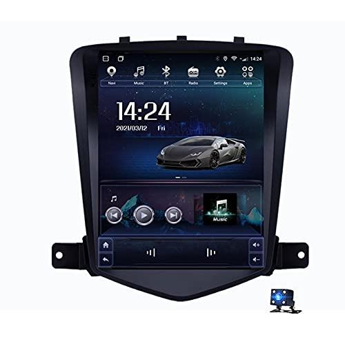 9'Android 10.0 2.5D Pantalla Táctil Radio Estéreo Para Automóvil Navegación Por Satélite Para Chevrolet Cruze 2009-2014 Soporte GPS Autoradio WiFi Bluetooth/Control Del Volante(Color:4G+WIFI 2G+32G)