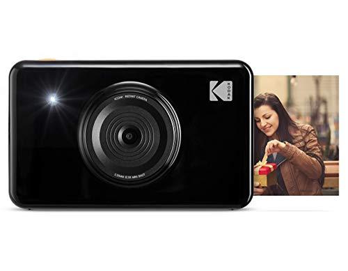 KODAK Mini Shot Impresiones Inalámbricas de 5 X 7.6 cm con 4 Pass, Tecnología de Impresión Patentada + MC impresión fotográfica Mini, Todo en uno, Tinta y Papel, Lote de 30