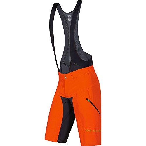 Gore Bike Wear Power Trail 2 in 1 - Pantalón Corto para Hombre, Color Naranja, Talla M