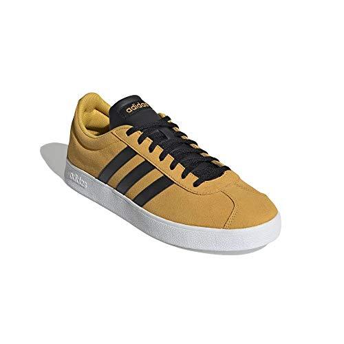 adidas Hombre VL Court 2.0 Zapatillas Amarillo, 44 2/3